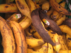 Yellow  and 'Black' Plantains