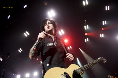 Green Day at the Mandalay Bay in Las Vegas