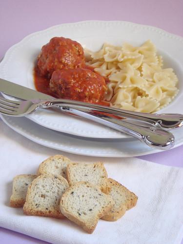 Meat balls Italian way