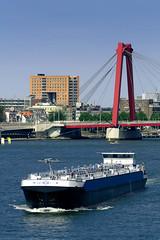 Rotterdam. Maas and Willemsbrug