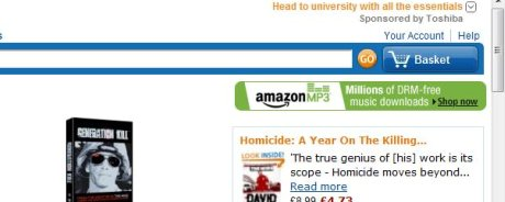 Amazon basket link