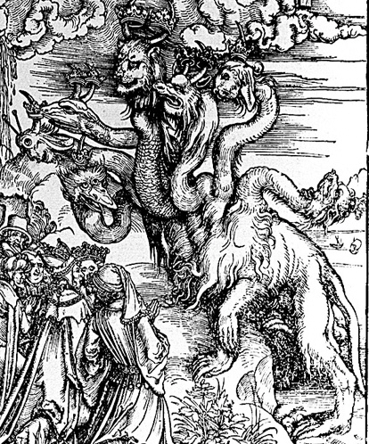 7headedBeast-only-AlbrechtDurer