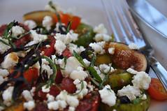 Healdsburg Salad (nyman77) Tags: food salad tomatoes figs