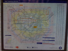 Tube map - old skool