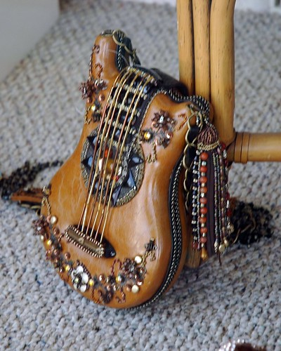 Guitar Purse in Solvang Store