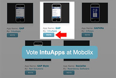 Vote IntuApps at MobClix