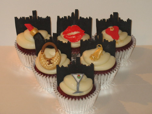 Sex and the City cupcakes