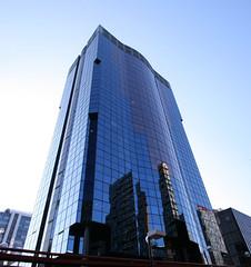 Alfredo Mahou II (darkside_1) Tags: madrid blue españa building tower azul reflections torre edificio cristal reflejos azca sergiozurinaga bydarkside darkside1