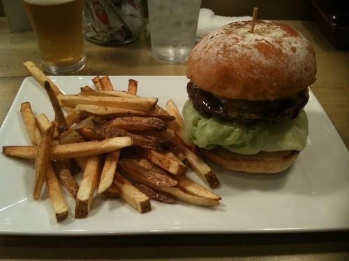 Kobe Beef Burger@EAT