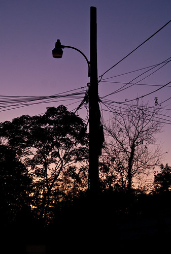 Alley at dusk (Day 278)