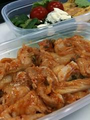 091016 豚キムチ弁当