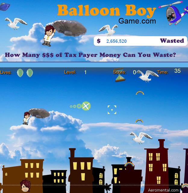 juego BalloonBoy Game