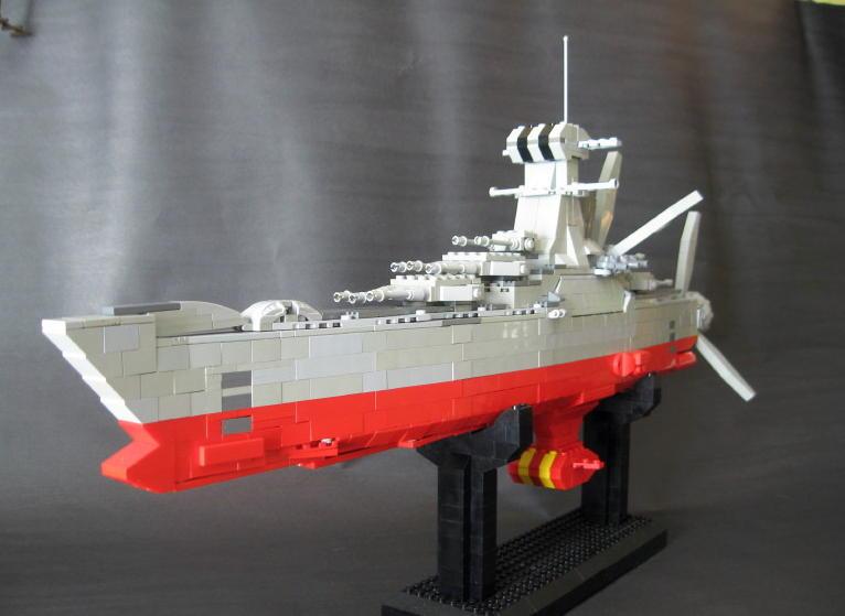 Microbricks Space Battleship Yamato