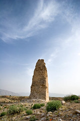 Iran, Ancient City of Goor, Centralpillar (Ali Majdfar) Tags: ruins iran persia shiraz column  relic firuzabad remnant gour  fars gur        firoozababd   gettyimagesmiddleeast