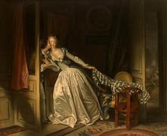 Fragonard, Jean Honore (1732-1806) - 1787-89 The Stolen Kiss (Hermitage, St. Petersburg) (RasMarley) Tags: french interior painter figure hermitage 18thcentury rococo fragonard 1787 1780s jeanhonorefragonard thestolenkiss