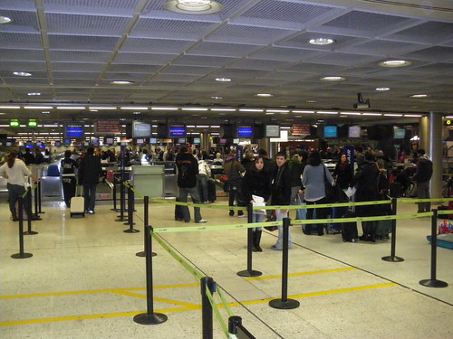 Check-in hall @ Dublin Airport @ 31/10/2009!