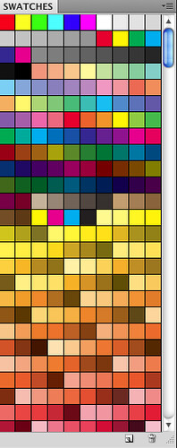 Photoshop Color Palette