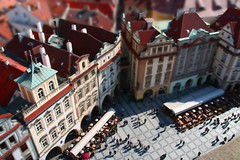 Prague miniature (Umberto Luparelli) Tags: miniature oldtownsquare fakes tiltshift