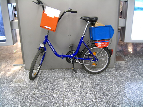 Frankfurt Airport Bicycle