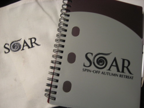 SOAR 2009 book & cloth