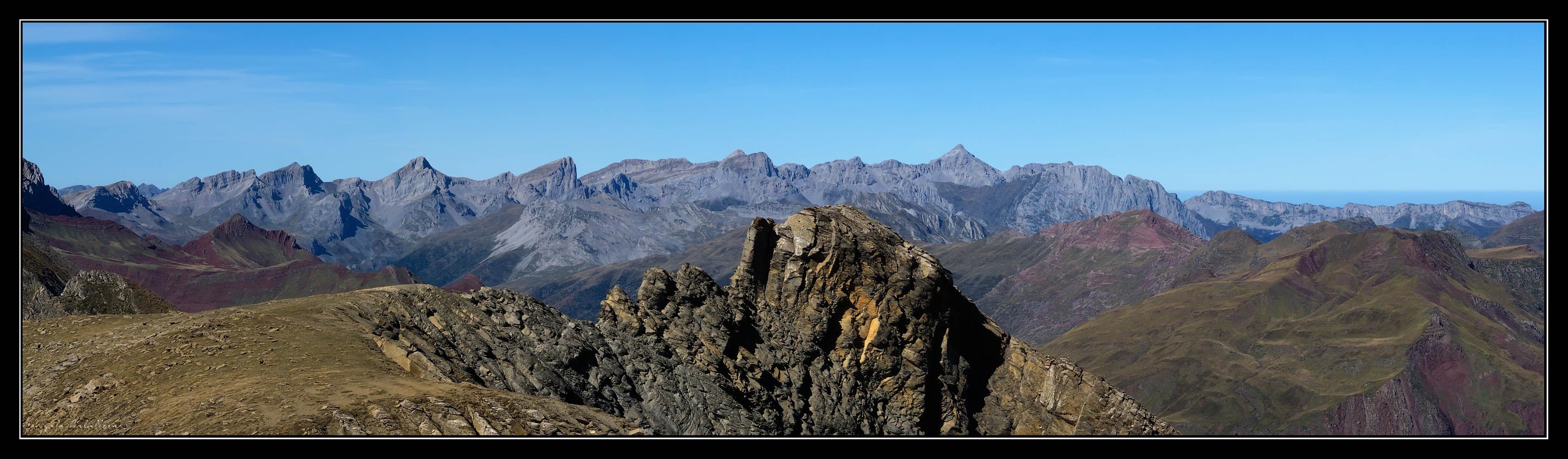 Pirineo Navarro desde Ruabe del Bozo (2419 m.)