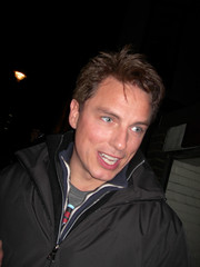 John Barrowman @ Stage Door (@just_michaelaa) Tags: london westend embankment lacageauxfolles zaza playhousetheatre johnbarrowman