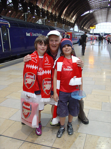 Fans with granddad
