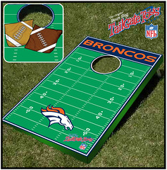 Denver Broncos Bean Bag Toss Game