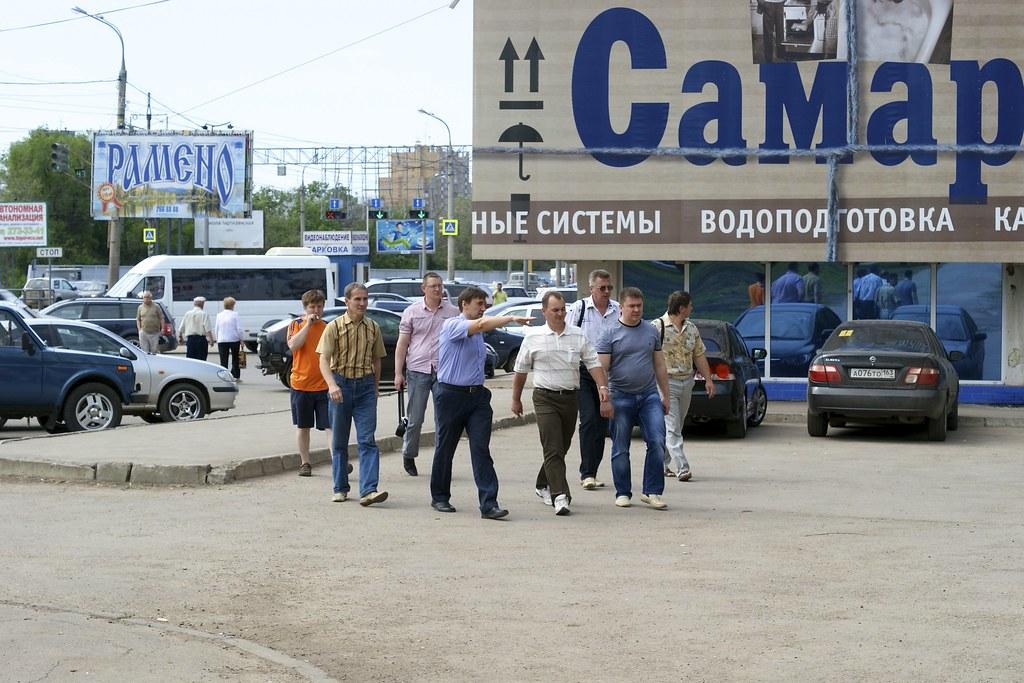 Husqvarna Road Show Samara