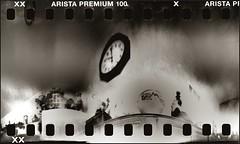 Ten O'clock. (Are W) Tags: film pinhole diafine anamorphic v500