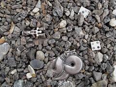 Unearthed (Thorskegga) Tags: dice macro art statue photography die snake figure serpent thor viking guild pagan heathen asatru hfp heathenry