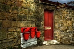 When Locked, Use External Facilities? (David Wilby) Tags: red station bucket railway toilet worn handheld buckets northyorkmoors toilets hdr highdynamicrange gents northyorkshire gentlemen goathland dented northyorkmoorsrailway firebucket 3xp firebuckets 3ex 3exp handheldhdr highspeedhdr highspeedbracketing