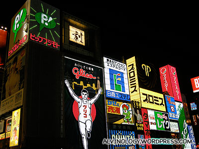 Neon signboards everywhere