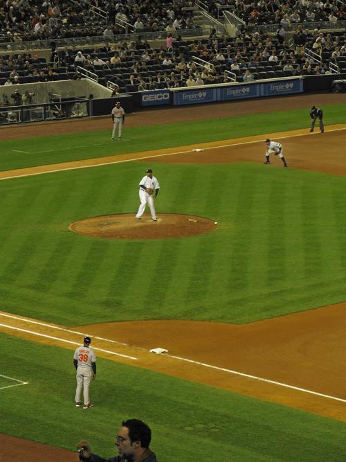 C.C. Sabathia, Yankee Stadium, Bronx, NYC