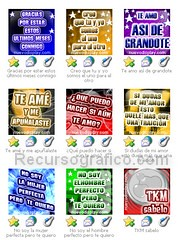 displays  y avatares gratis para messenger