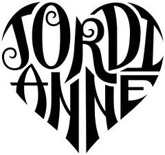 """Jordi"" & ""Anne"" Heart Design"