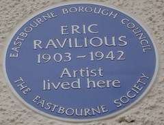 Photo of Eric Ravilious blue plaque