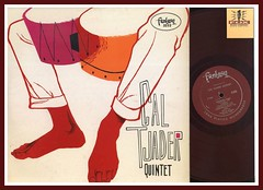 Cal Tjader Quintet Fantasy Records 3232 Red Vinyl Record Album lp Microgroove
