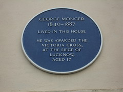 Photo of George Monger blue plaque