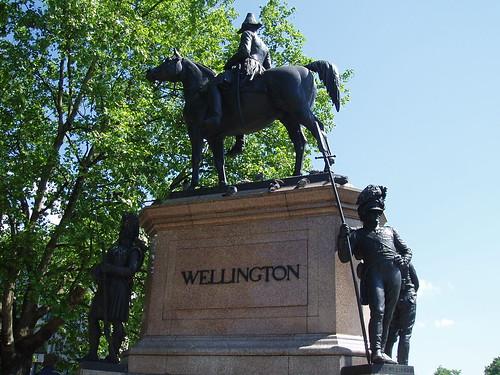Wellington Statue. Hyde Park Corner