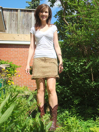 Short Skirt With No Panties 45