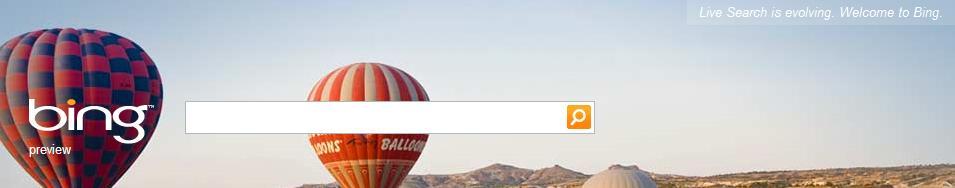 Bing.com on June 1, 2009