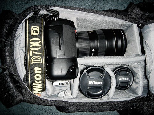 What can you fit in Lowepro Flipside 200