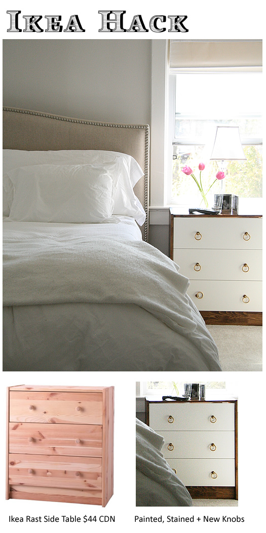 Bedside Table IKEA Hack/DIY | decor8