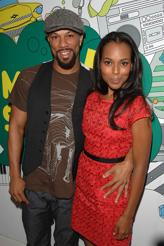 kerry-washington-and-common-mtv-trl
