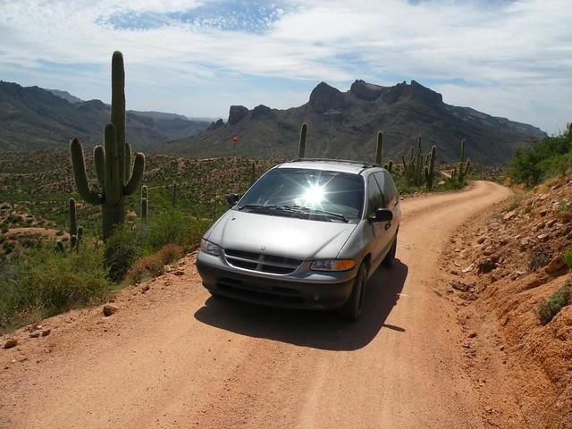 arizona cactus clouds dodge 1997 caravan minivan apachetrail bluespace theamericanwest somethingblue motorvehicles arizonasky carscarscars thegreatsouthwest thedesertrocks outdoorsanddesertlovers ceavispath