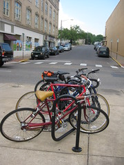 Bikes Belong Coalition Grants Program Bike rack near Dave s Taverna