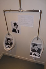 Out of order (bitospud) Tags: pictures sign birthdayparty urinals decorated filmstars jos50th banffcastle