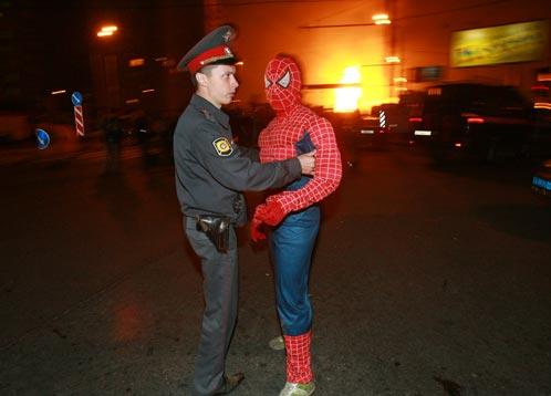 Homem Aranha Piromaníaco