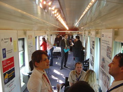 Train Chartering - Swiss exhibition car available for hire